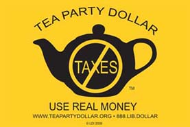 2009 Tea Party Flag Image