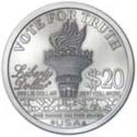 Ron Paul Silver Liberty Back